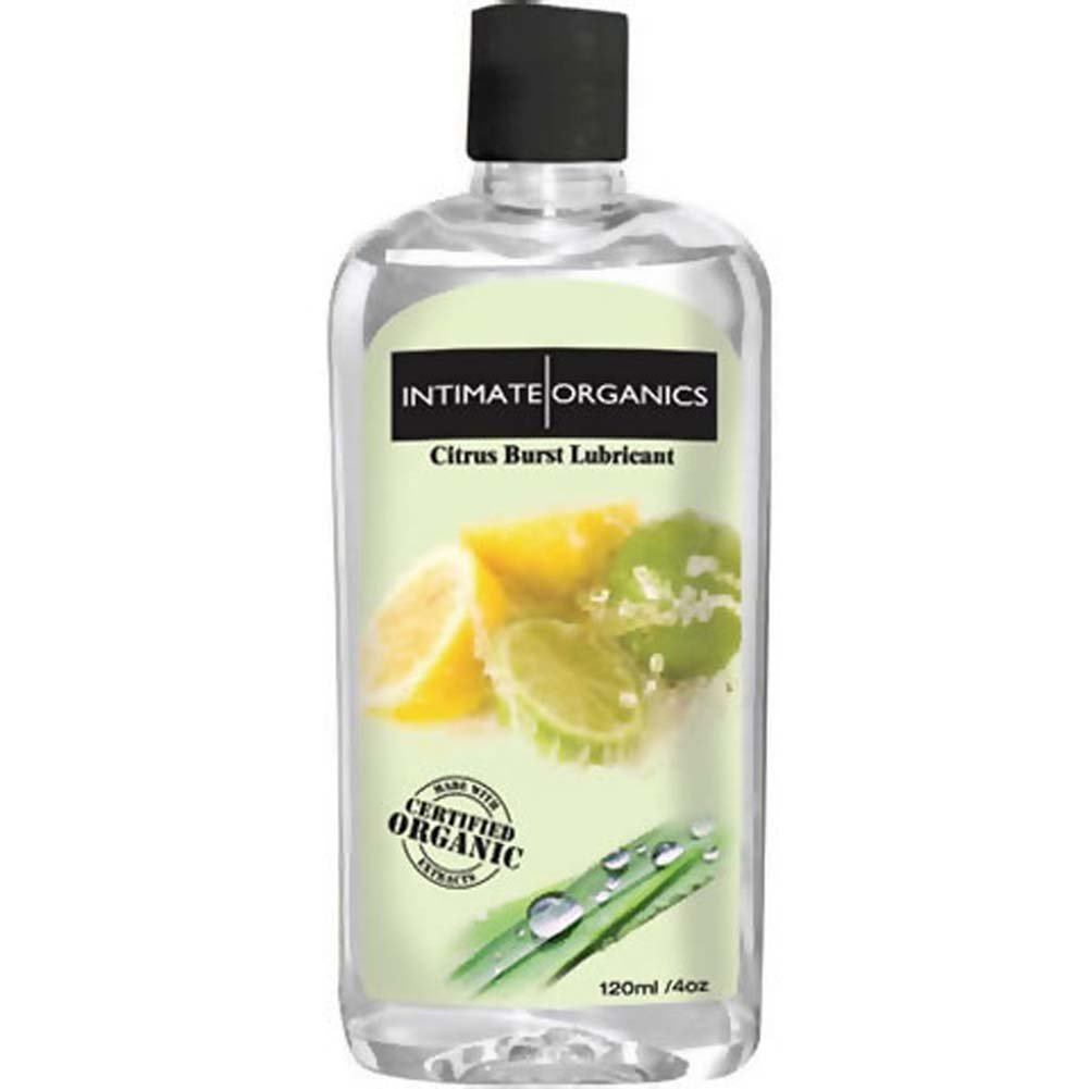 Intimate Organics Citrus Burst Lubricant 4 Fl. Oz. - View #1