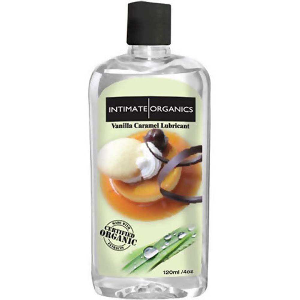 Intimate Organics Vanilla Caramel Lubricant 4 Fl. Oz. - View #1