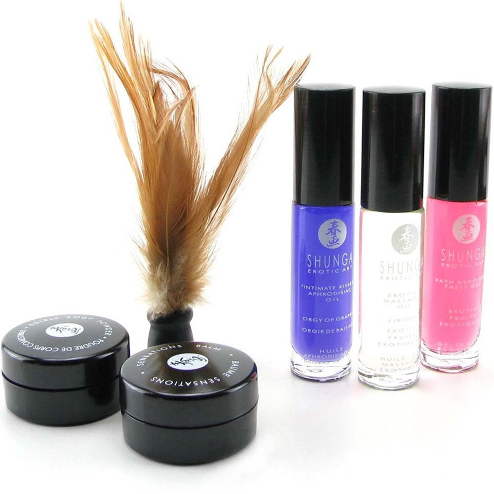 Shunga Geishas Secrets Collection Gift Set for Lovers - View #1