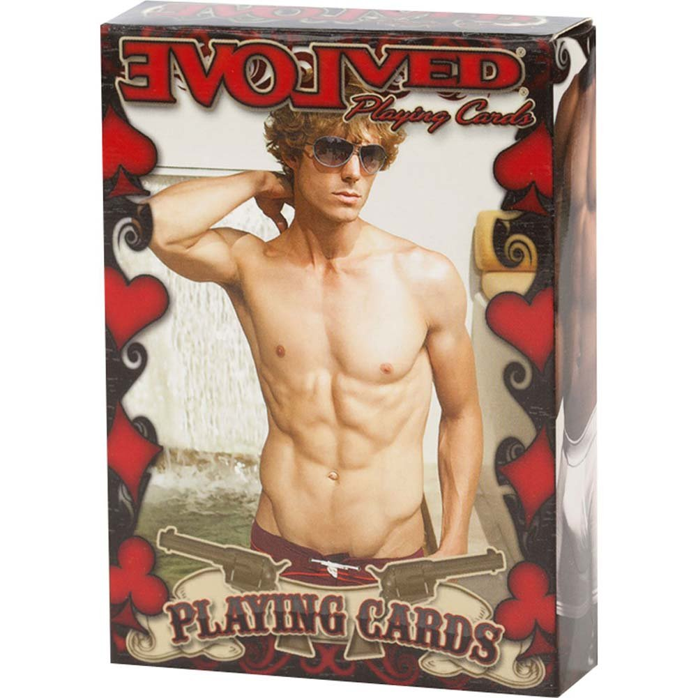 Male Playing Cards - View #1