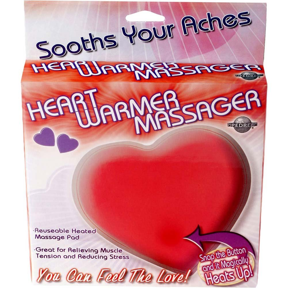 Heart Warmer Jelly Massager Red - View #1