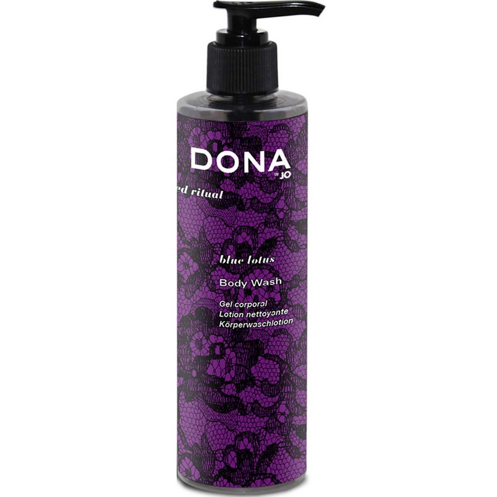 Dona Cleanse Body Wash Blue Lotus 9.5 Oz. - View #1