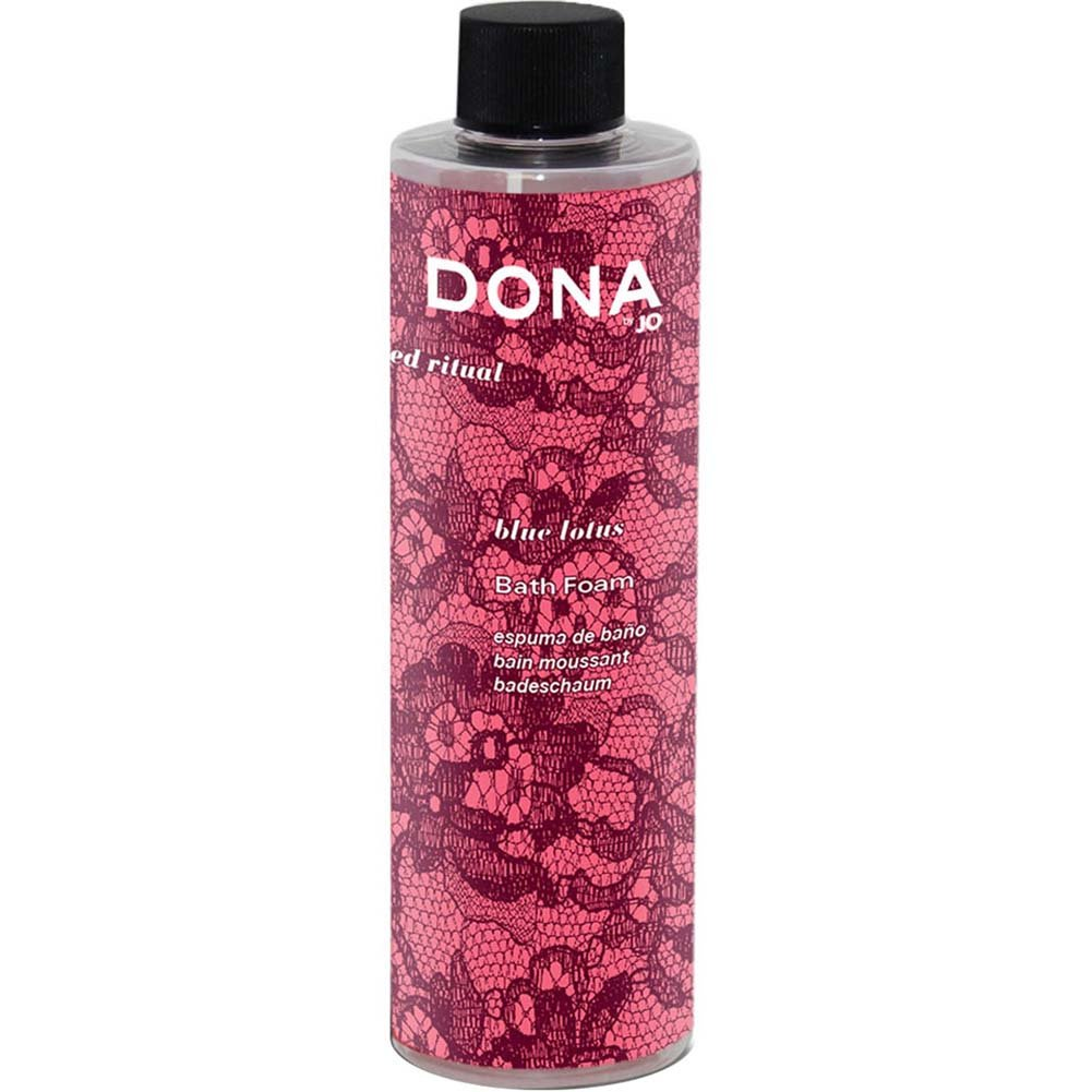 Dona Cleanse Bath Foam Blue Lotus 9.5 Oz. - View #1