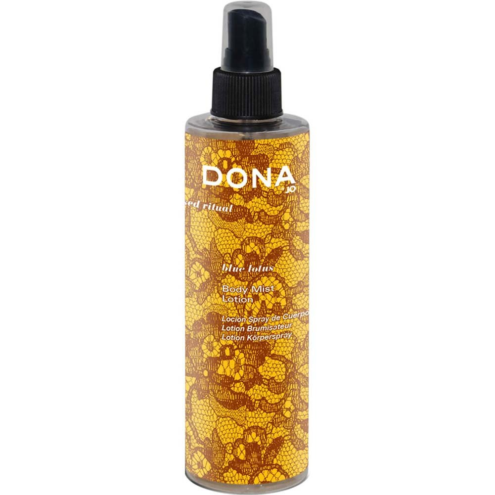 Dona Nourish Body Mist Lotion Blue Lotus 8.5 Fl. Oz. - View #1
