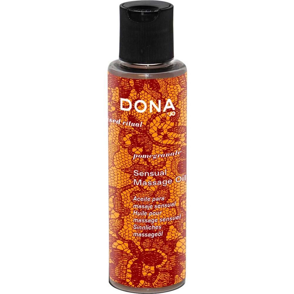 Dona Engage Sensual Massage Oil Pomegranate 4.7 Oz. - View #1