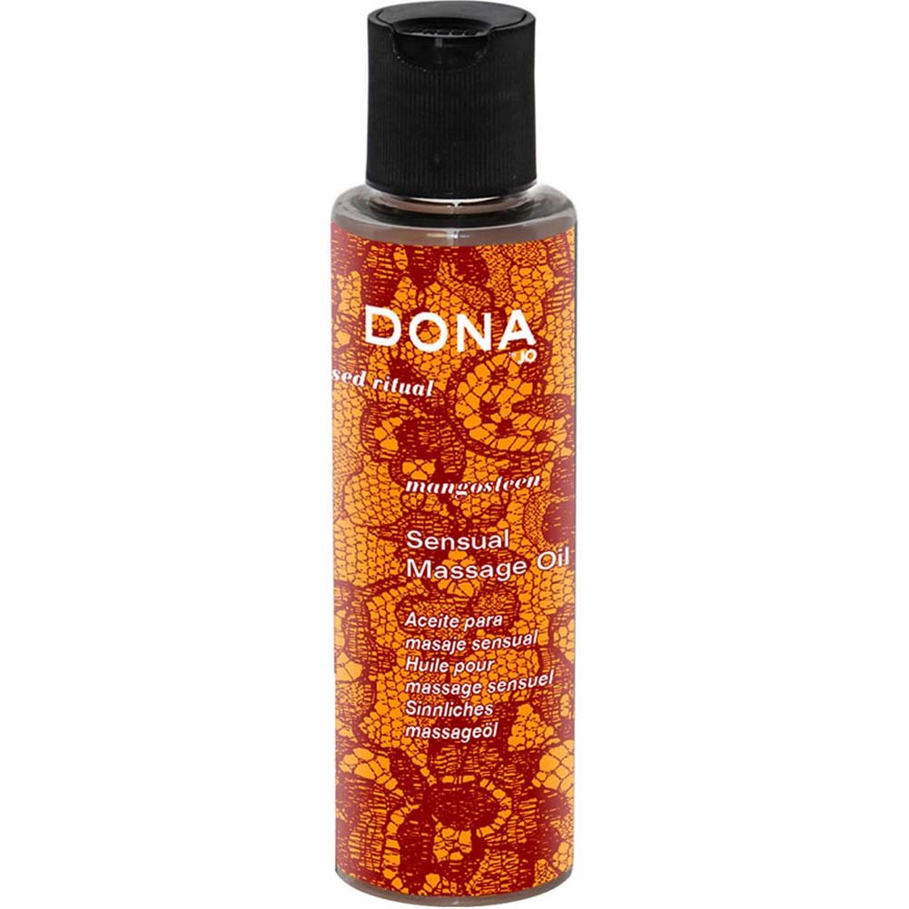 Dona Engage Sensual Massage Oil Mangosteen 4.7 Oz. - View #1