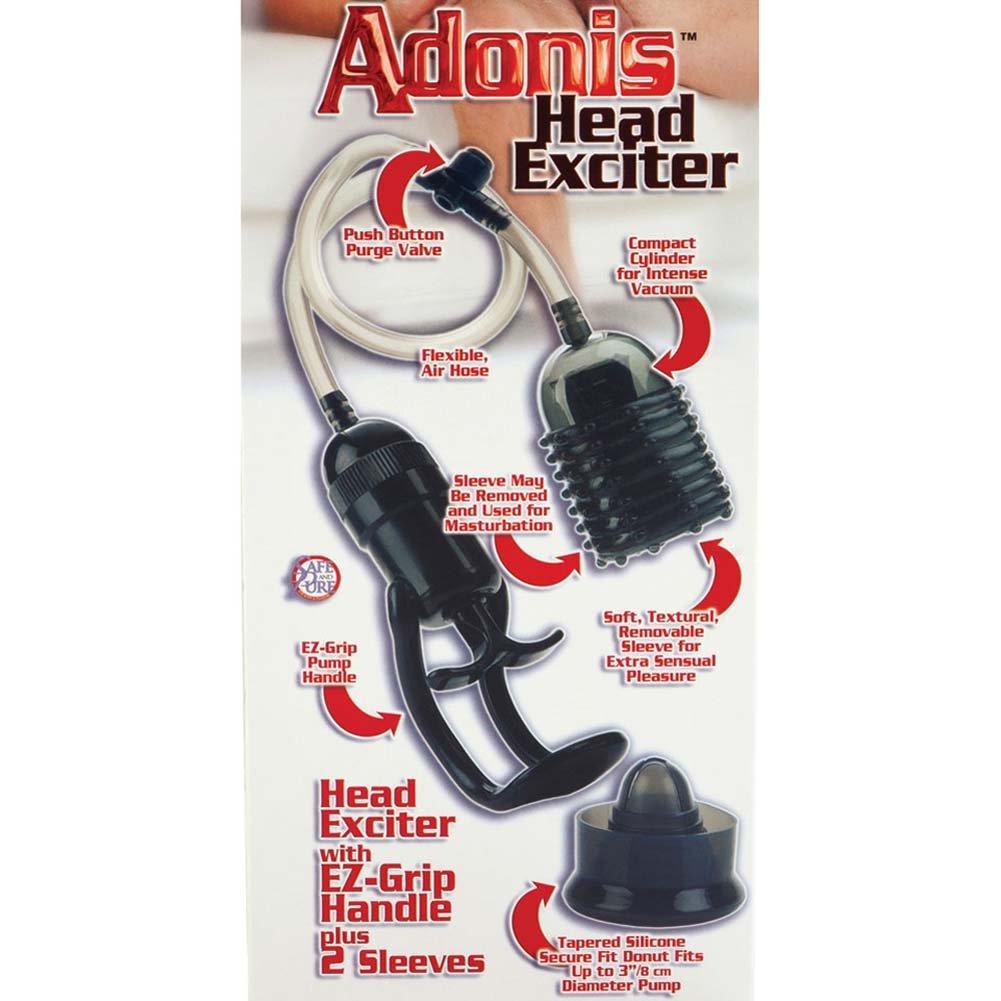 Adonis Head Exciter with EZ Grip Handle Black - View #1