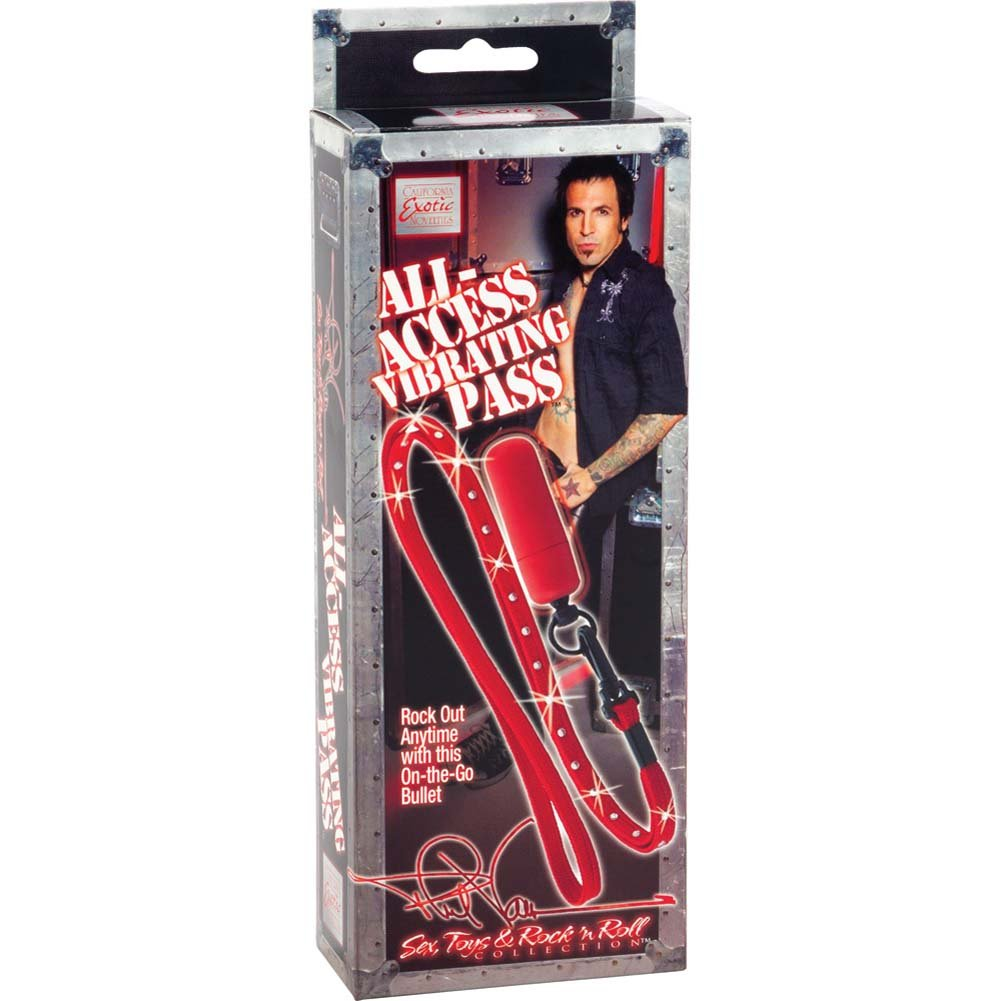 """Phil Varone All Access Vibrating Pass 2.25"""" Red - View #4"""