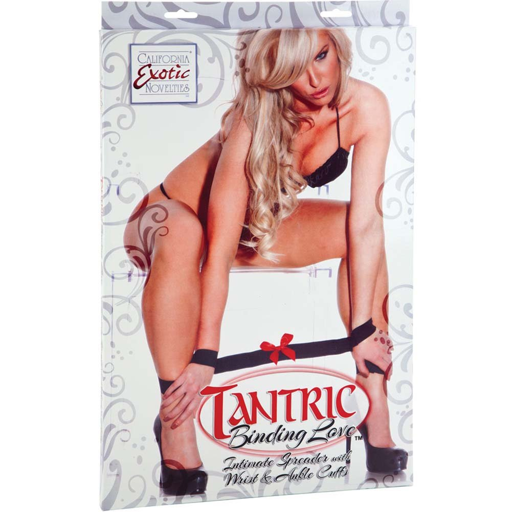 Tantric Binding Love Intimate Spreader with Cuffs - View #1