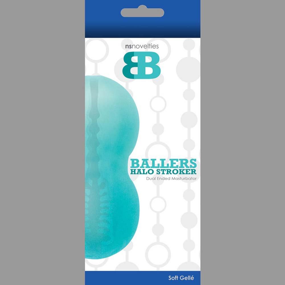 "Ballers Spiral Stroker Jelly Masturbator 5.5"" Green - View #1"