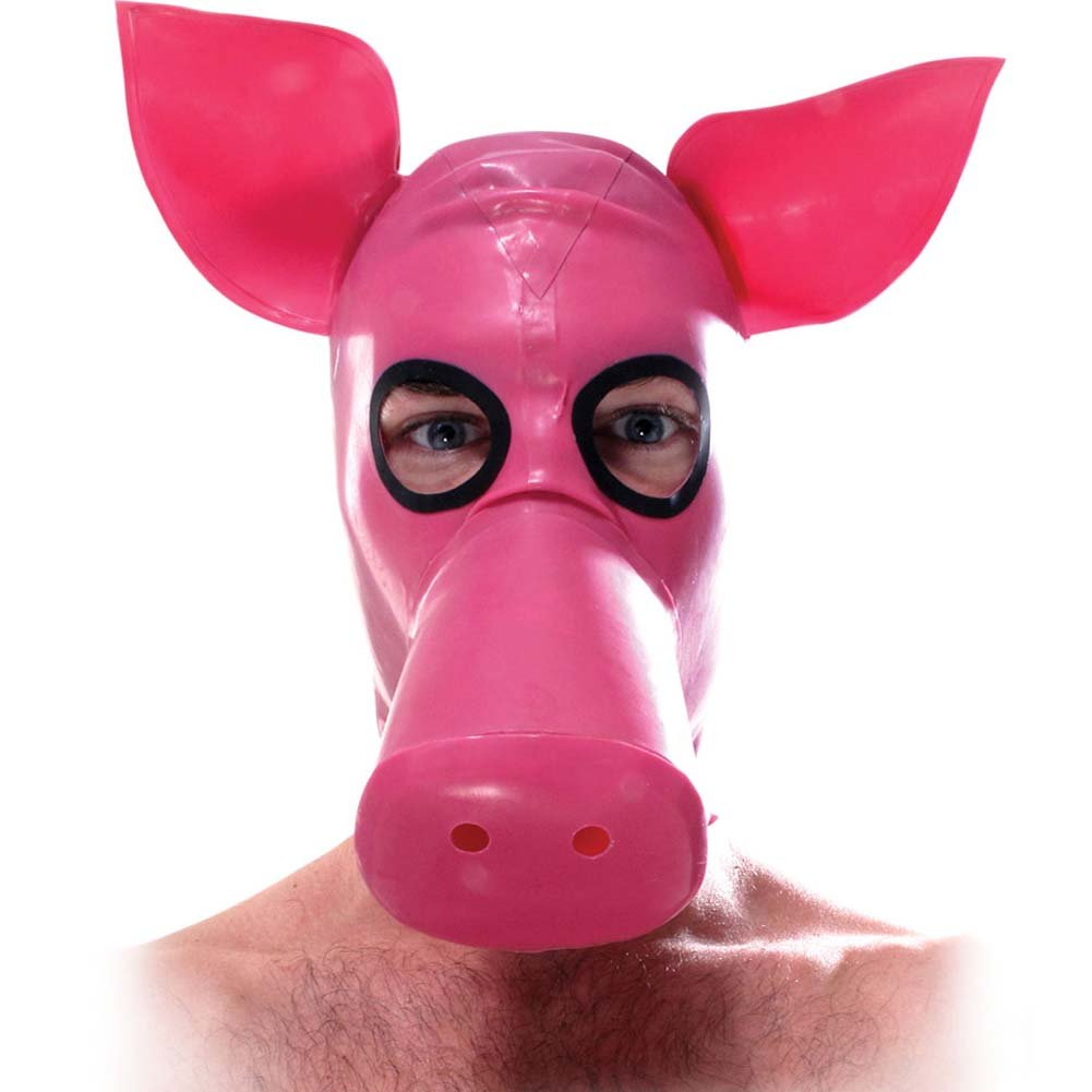 Fetish Fantasy Extreme Lil Piggy Hood Pink - View #2