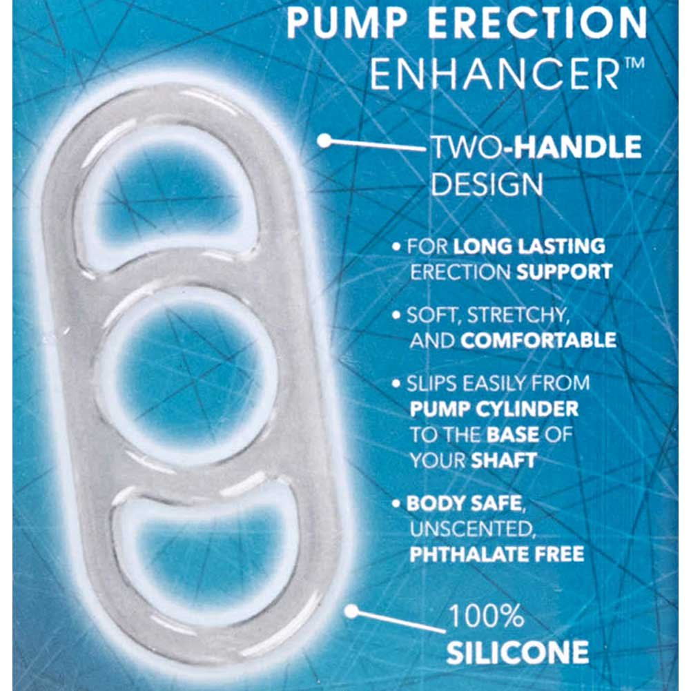 CalExotics Dr. Joel Kaplan Pump Erection Enhancer Erection Ring Clear - View #1