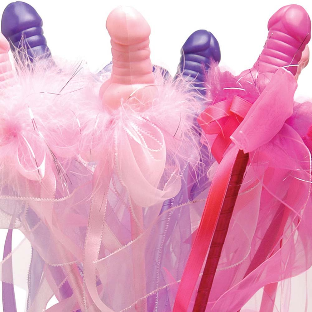 Bachelorette Party Favors Fancy Pecker Wands 12 Pieces Display - View #1