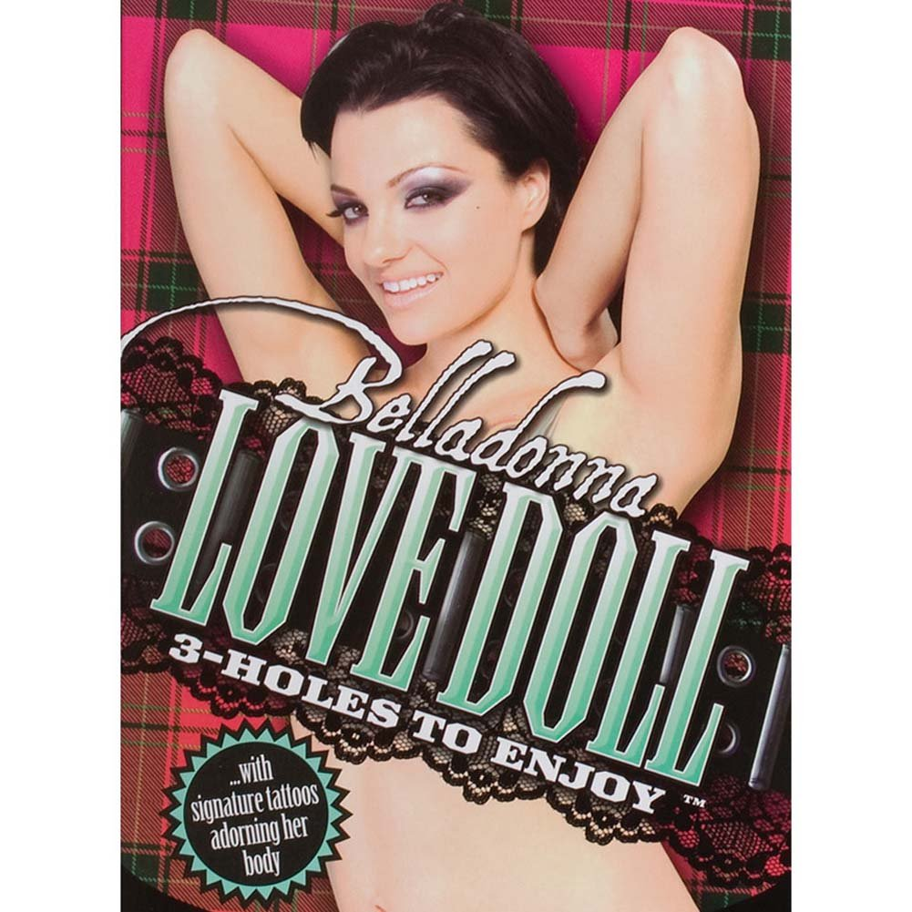 Belladonna Inflatable Love Doll. - View #1