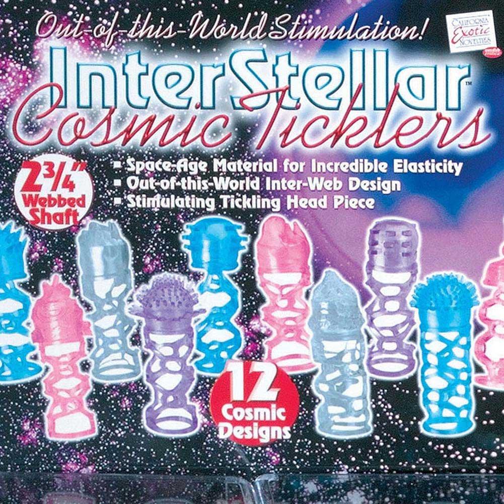 Inter Stellar Cosmic Ticklers Display 12 Cosmic Designs - View #2