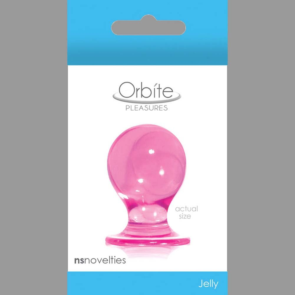 "Orbite Pleasures Small Butt Plug 1.75"" Pink - View #1"