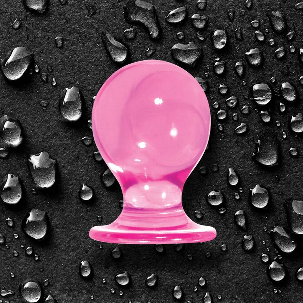 "Orbite Pleasures Small Butt Plug 1.75"" Pink - View #3"