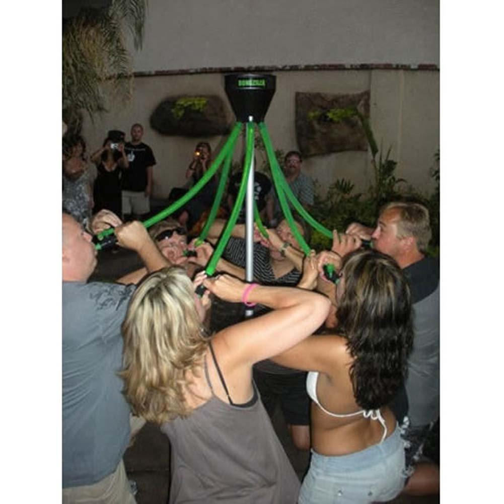 Bongzilla 6 Tube Beer Bong with Nozzles - View #1