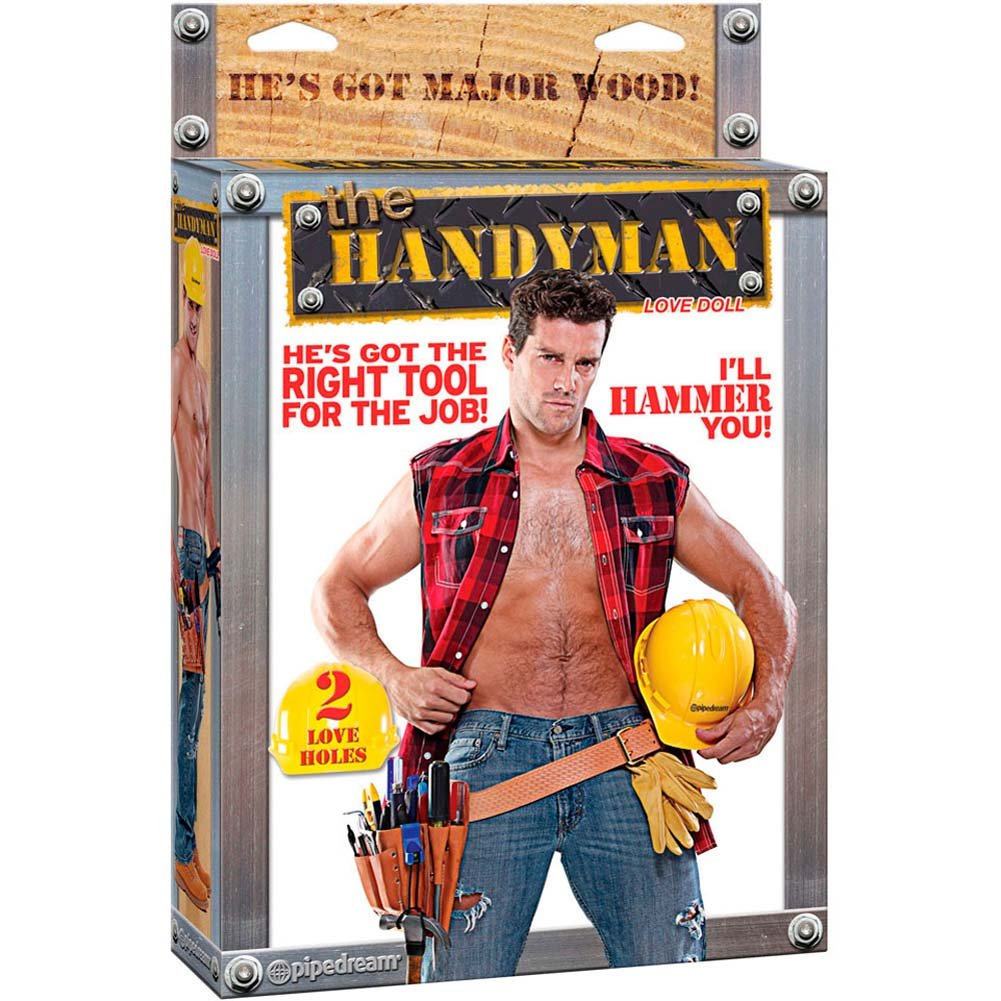 Handyman Blow Up Love Doll. - View #4