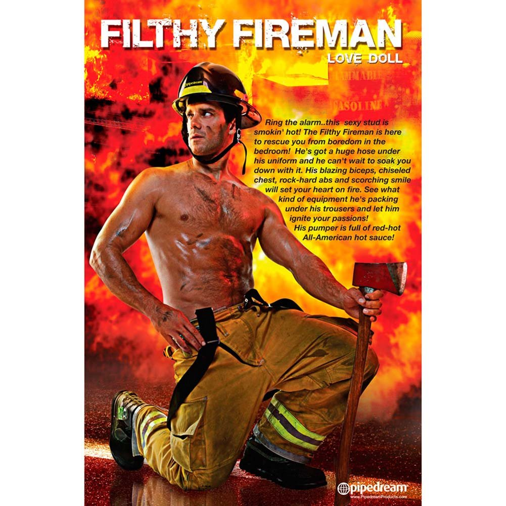 Filthy Fireman Inflatable Love Doll RbDV - View #3