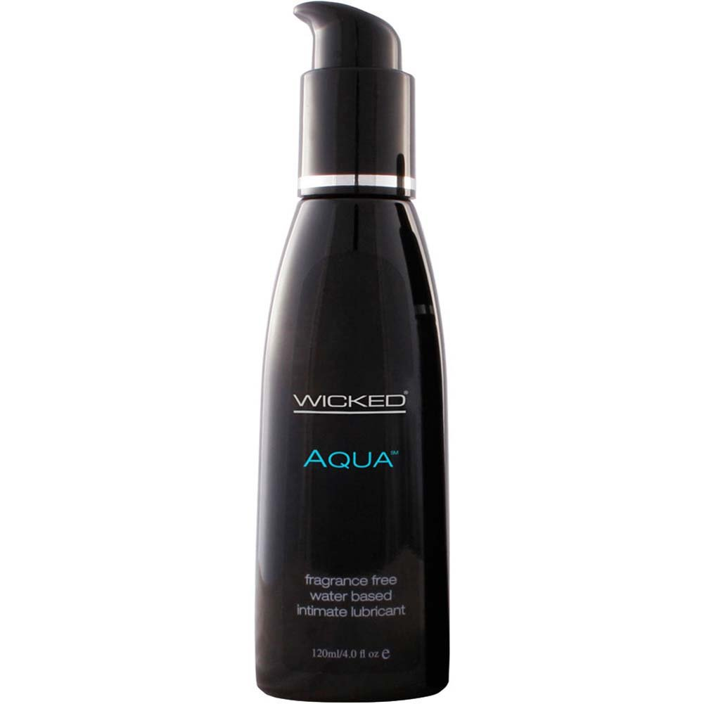 Wicked Sensual Care Aqua Water Based Lube 4 Fl. Oz. - View #1