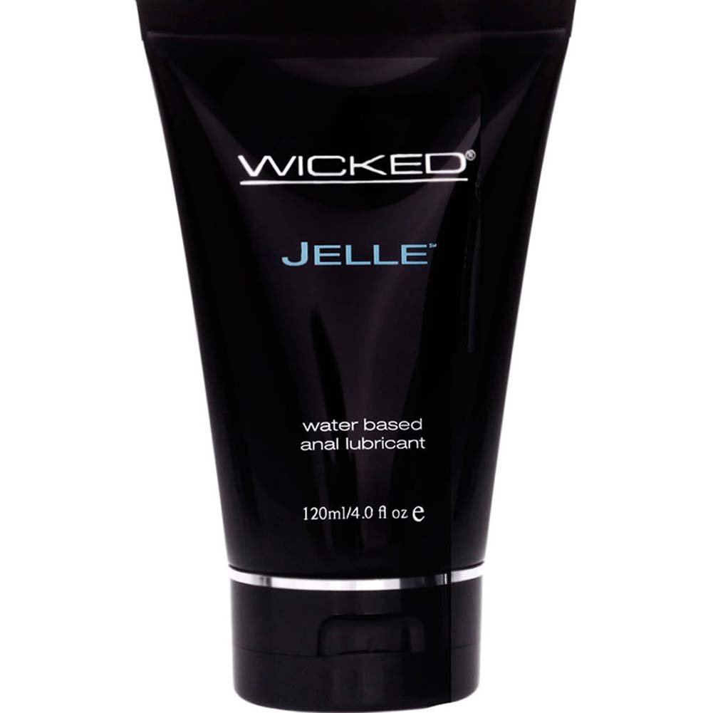 Wicked Sensual Care Jelle Anal Water Based Lube 4 Fl Oz Tube - View #2