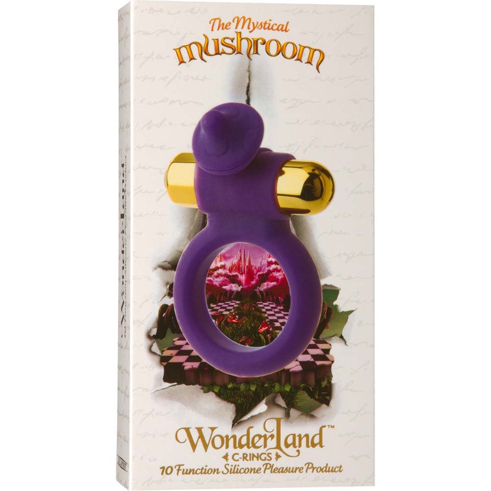 Wonderland C Ring Mystical Mushroom Vibrating Cockring - View #1