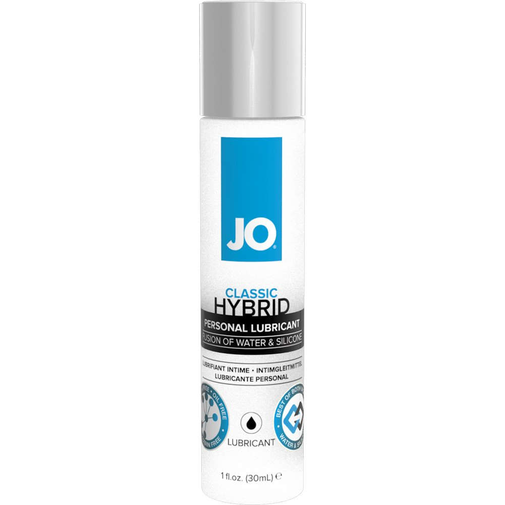JO Hybrid Silicone and Water Based Personal Lubricant 1 Fl.Oz 30 mL - View #1