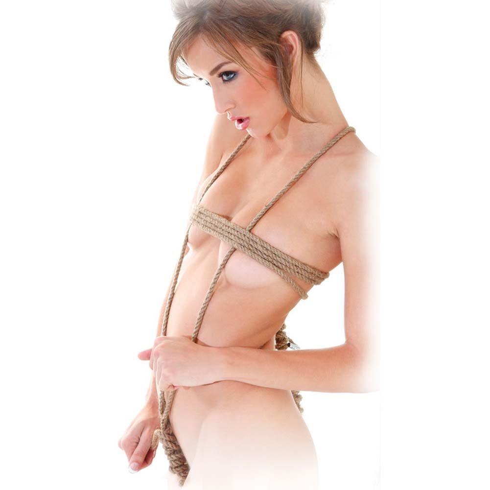 Fetish Fantasy Series Jute Bondage Rope - View #1