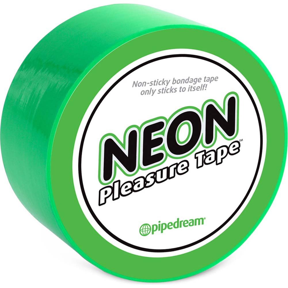 Neon Pleasure Tape Green - View #1