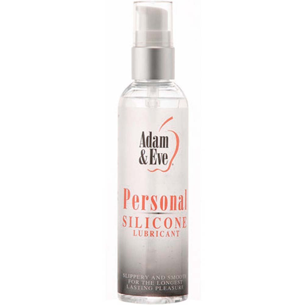 Adam and Eve Personal Silicone Lubricant 4 Fl. Oz. - View #1