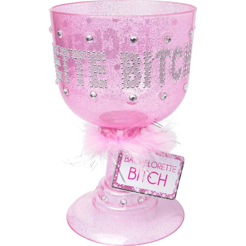 Bachelorette Party Favors Bachelorette Bitch Pimp Cup Pink - View #1