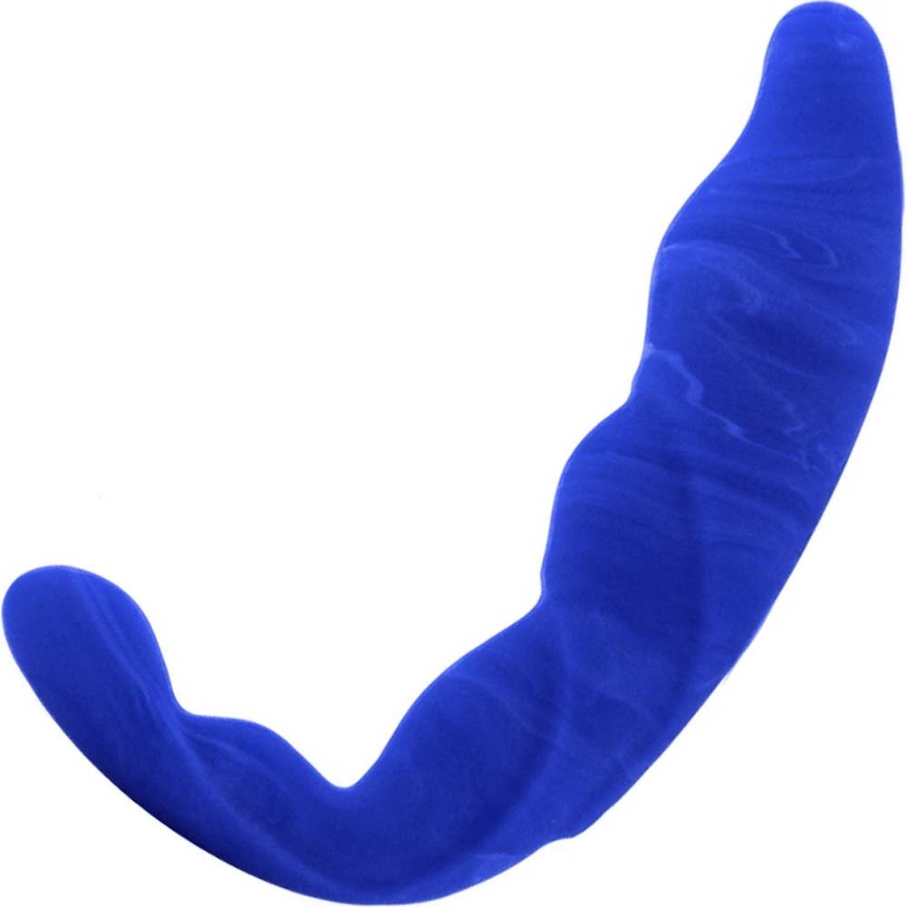 "Prostate Massage Talon Silicone Anal Probe 5"" Blue - View #2"