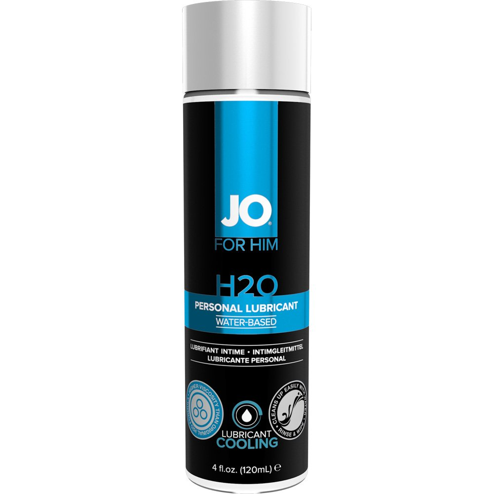 JO for Men H2O Cooling Lube 4 Fl. Oz. - View #1