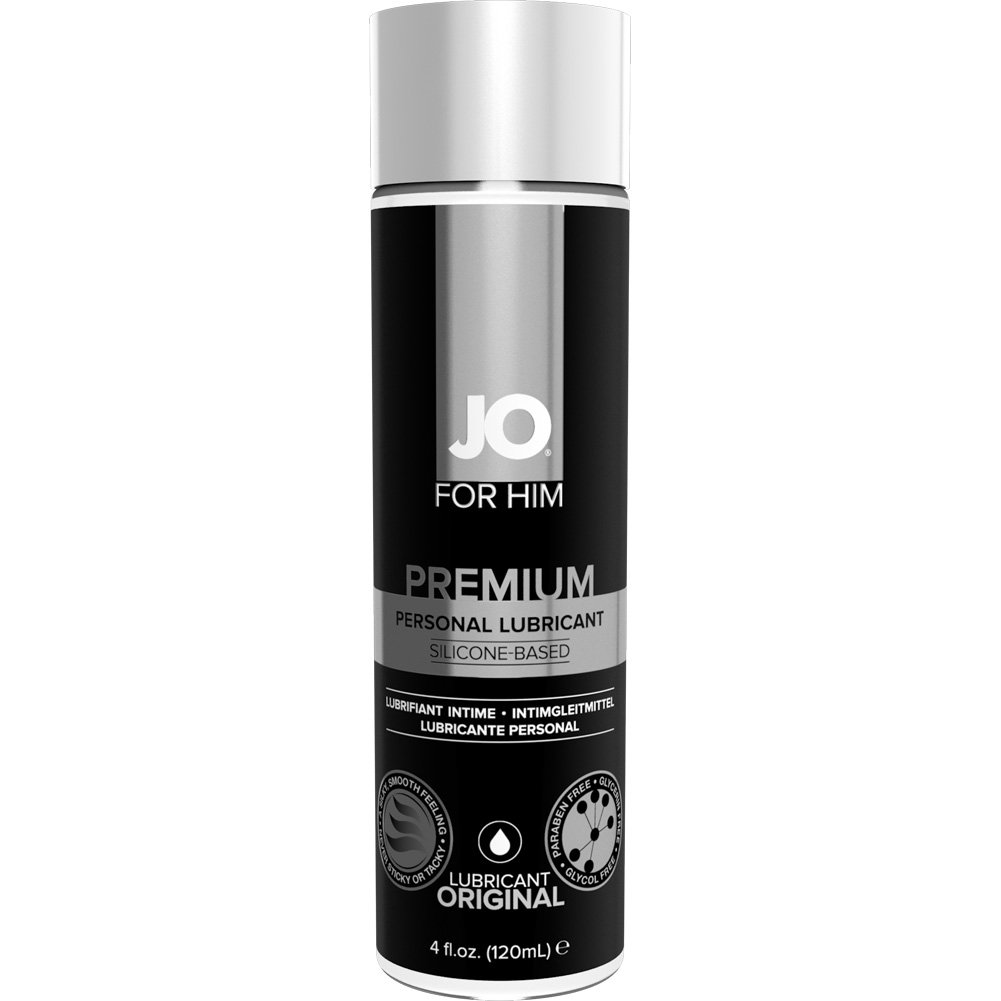 JO for Men Silicone Lube 4 Fl. Oz. - View #1