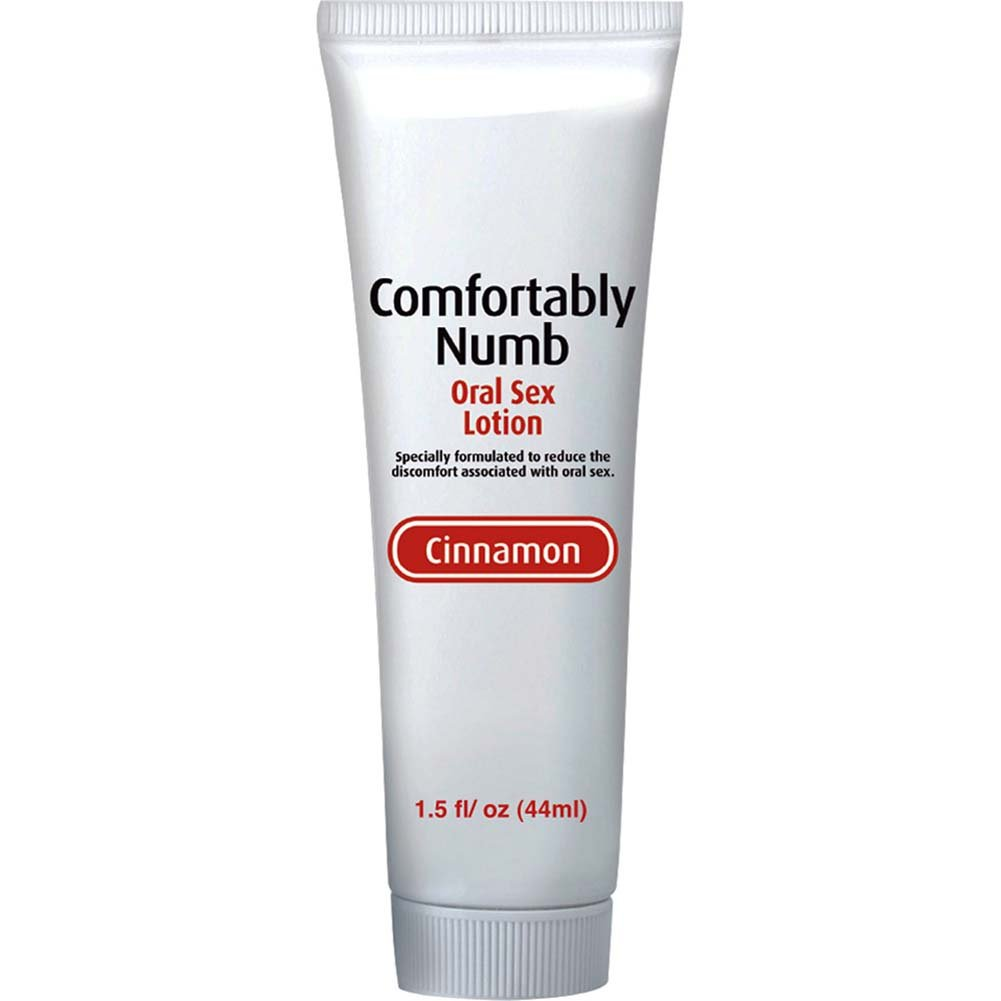 Comfortably Numb Flavored Oral Sex Lotion 1.5 Fl.Oz 44 mL Cinnamon - View #2