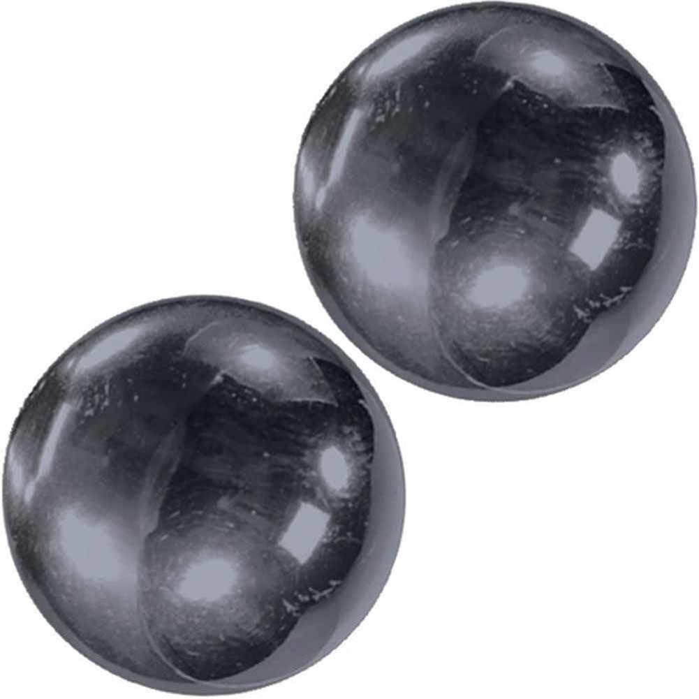 "Nen-Wa Balls Magnetic Hemitite Balls for Women 1.25"" Graphite - View #2"