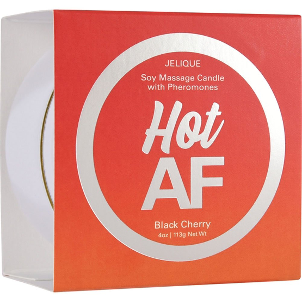 Classic Erotica Soy Massage Candle 4 Ounce 113 G Blazing Bitch Black Cherry - View #1
