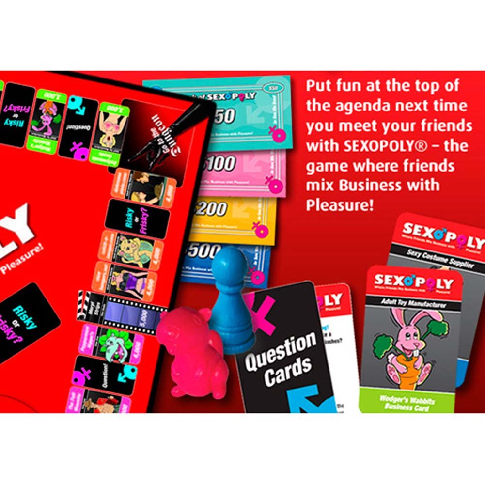Sexopoly Adult Game for Couples. - View #2