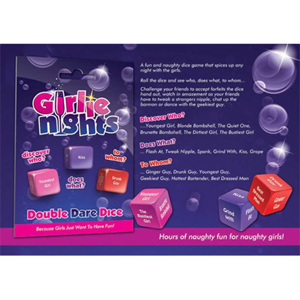 Girlie Nights Double Dare Dice - View #1