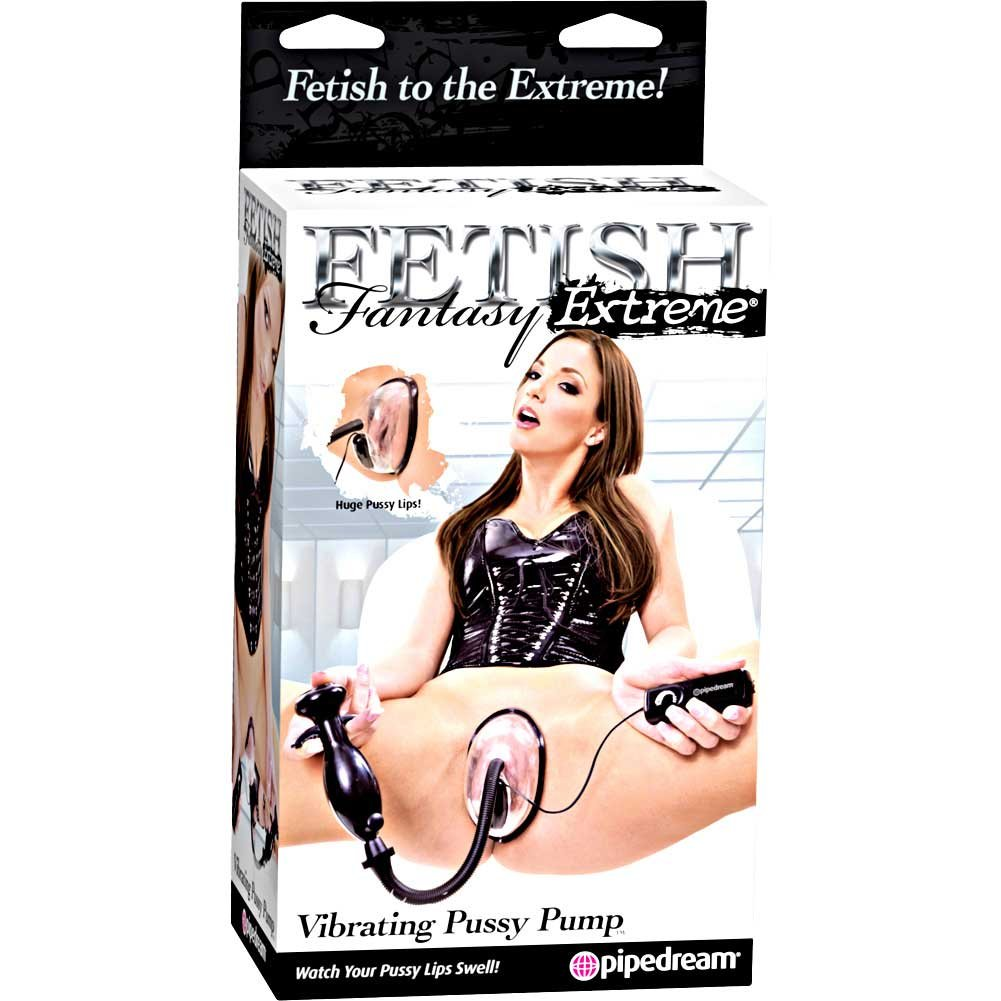 Fetish Fantasy Extreme Vibrating Pussy Pump Clear - View #4