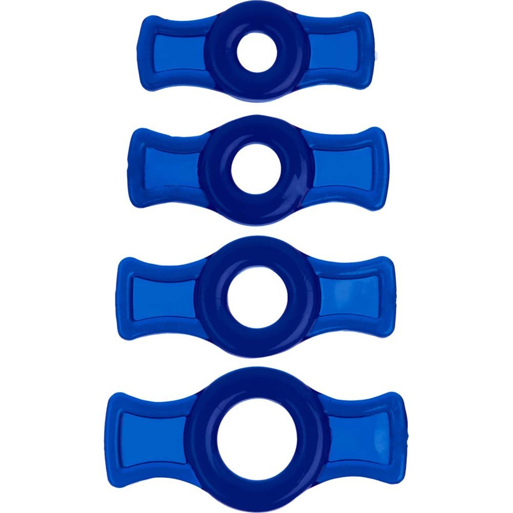 TitanMen Cockring Set Blue. - View #2