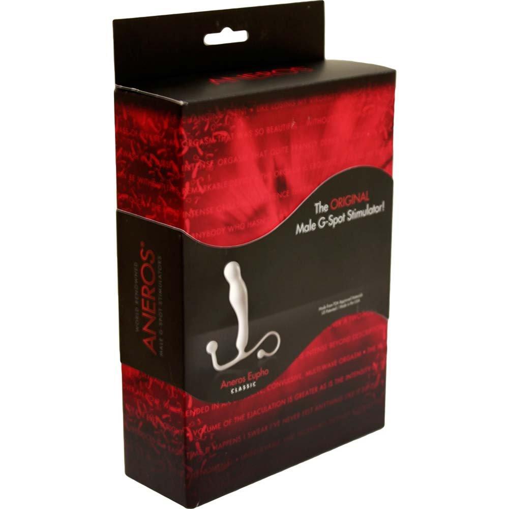 Aneros Eupho Classic Male G-Spot Stimulator White RbDV - View #4