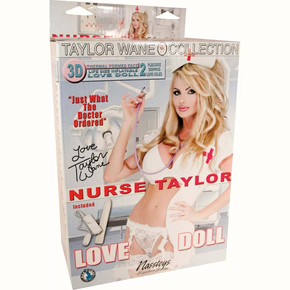 Nurse Taylor Vibrating Love Doll - View #2