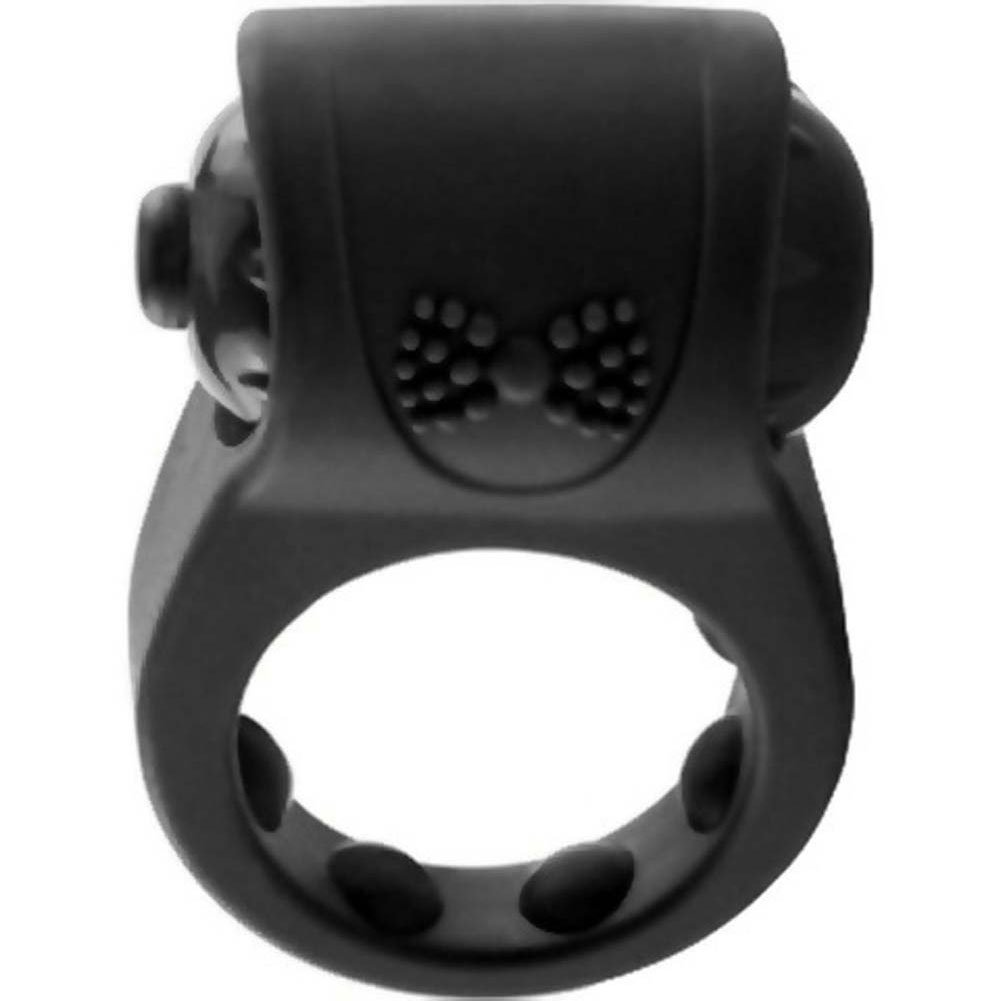 Screaming O Primo Tux Love Ring One Size Black - View #4