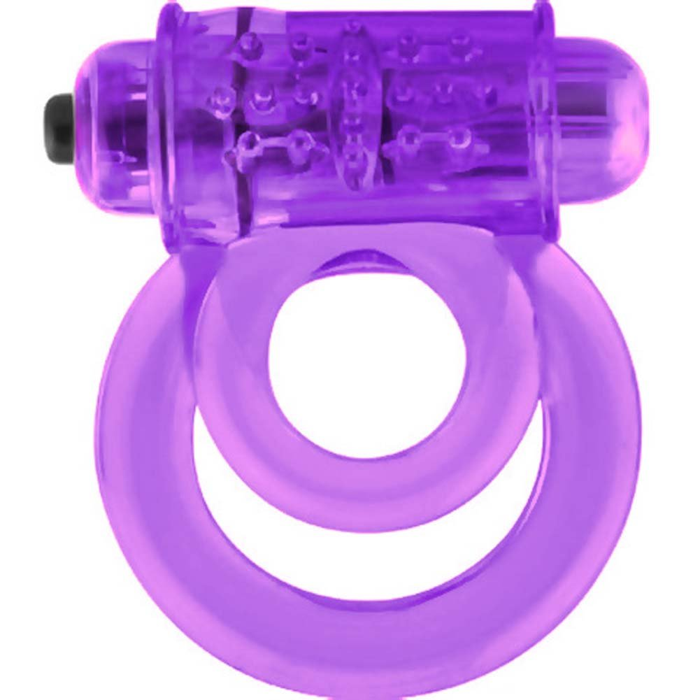 Screaming O Double O 6 Vibrating Silicone Cockring ASSORTED COLORS - View #3