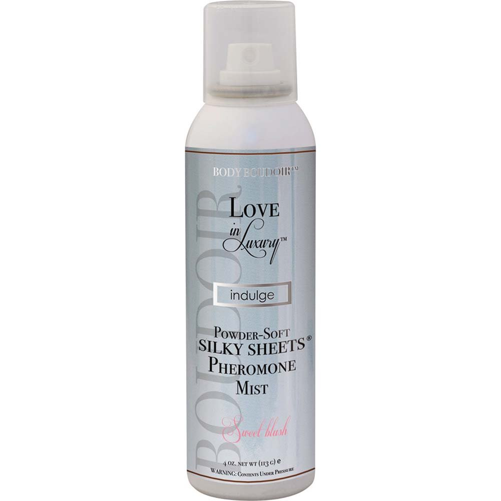 Love in Luxury Silky Sheets Pheromone Mist 4 Ounce 113 G Sweet Blush - View #1