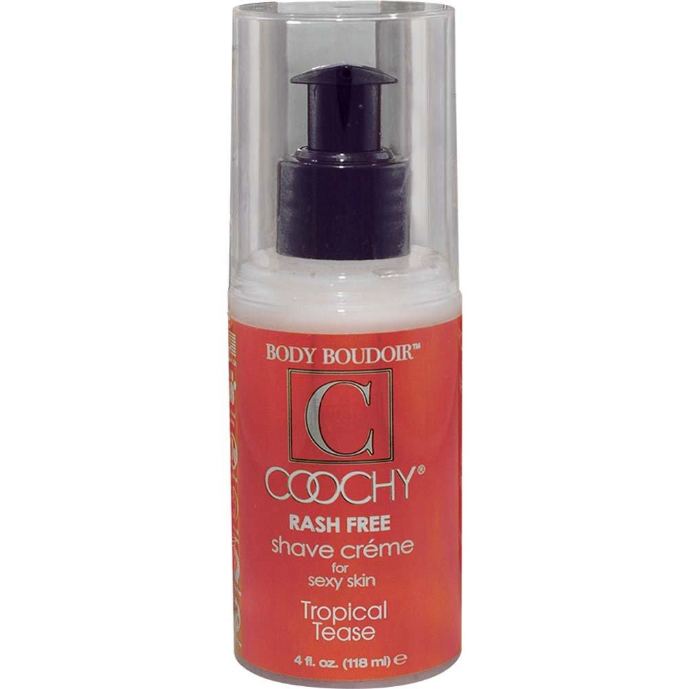 Coochy Rash Free Shave Creme Tropical Tease 4 Fl. Oz. - View #1
