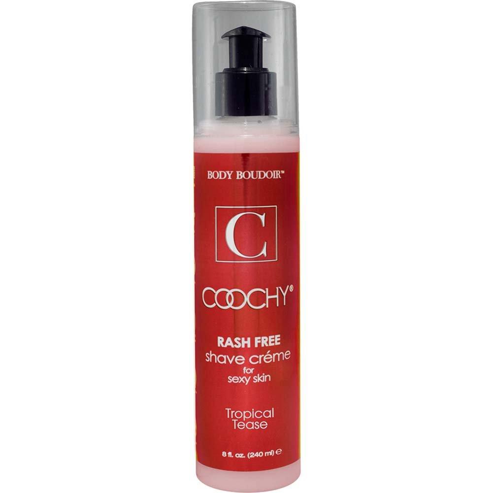 Coochy Rash Free Shave Creme Tropical Tease 8 Fl. Oz. - View #1