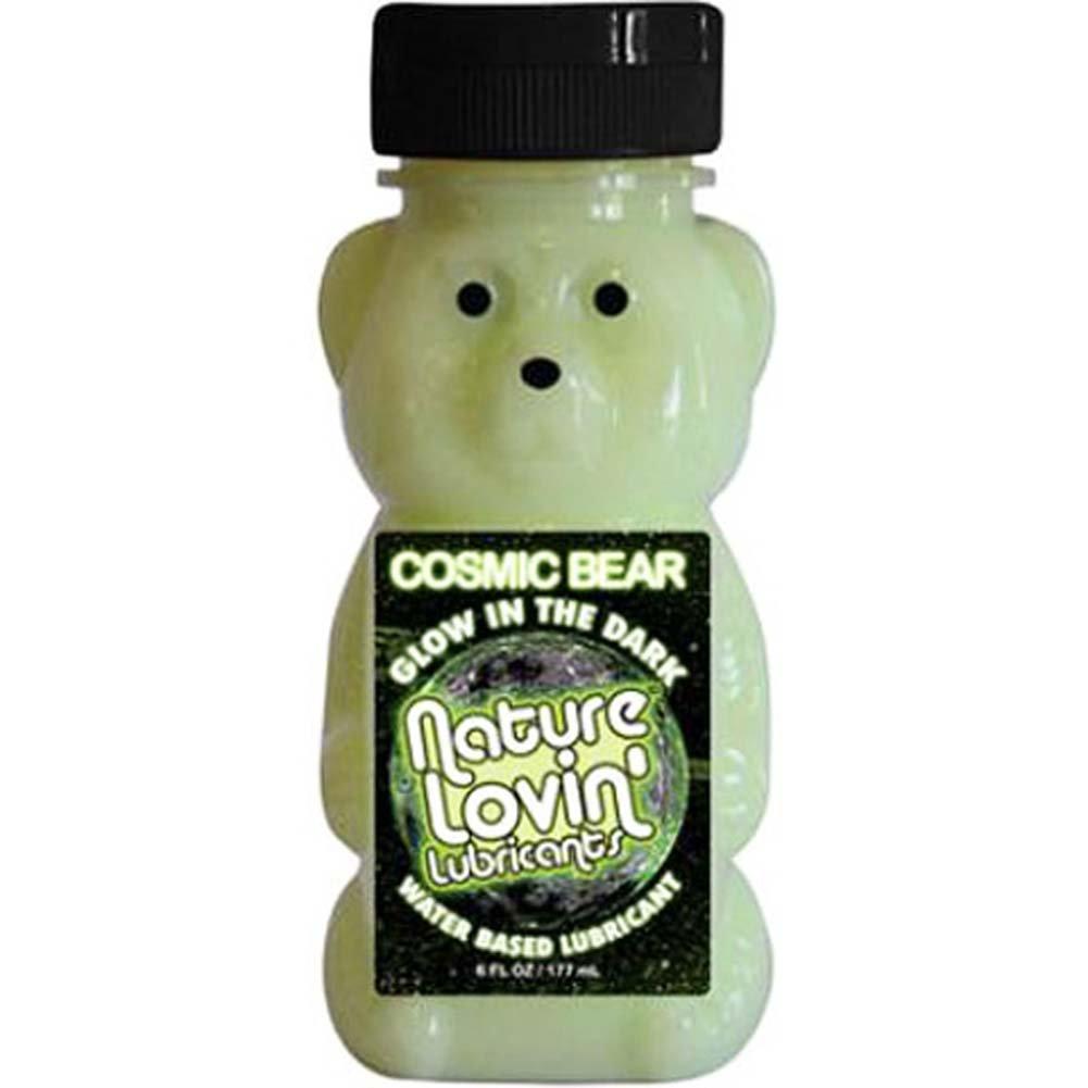 Nature Lovin Lubricants Cosmic Bear Glow in the Dark Lube 6 Fl. Oz. - View #1